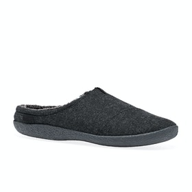 Toms Berkeley Slippers - Black Woolen