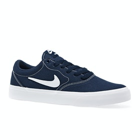 Chaussures Nike SB Charge Canvas - Midnight Navy White