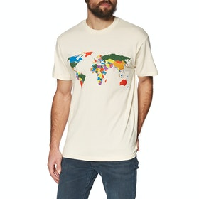 T-Shirt a Manica Corta Vans Save Our Planet - Natural
