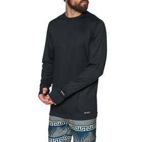 Burton Midweight Crew Base Layer Top - True Black