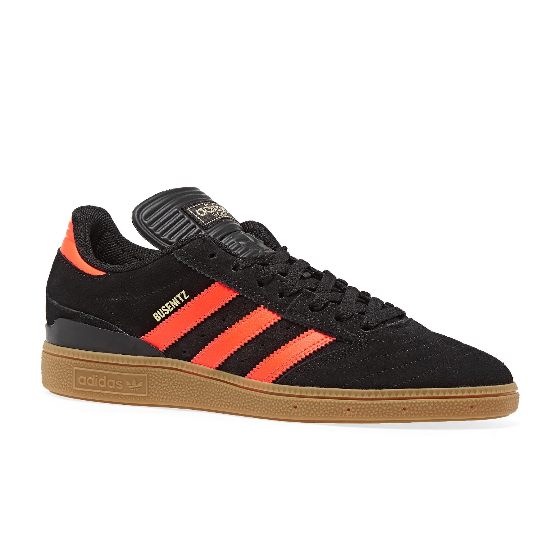 adidas Shoes Busenitz Vulc Rx (core blackgold met.scarlet)