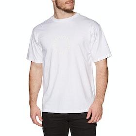 Camiseta de manga corta Adidas Pinwheel - White Off White