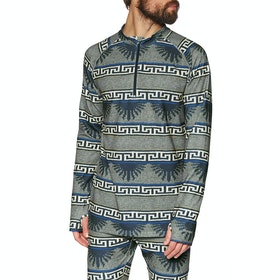 Burton Expedition 1/4 Zip Thermal Base Layer Top - Dress Blue Spurwink