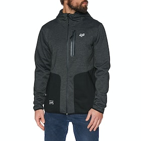Fox Racing Barricade Softshell Jacket - Black Heather