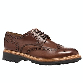 Dress Shoes Grenson Archie - Tan Commando Sole