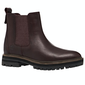 Timberland London Square Chelsea Ladies Boots - Dark Port Mincio
