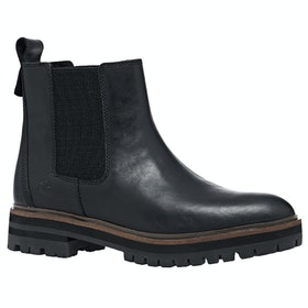 Timberland London Square Chelsea Ladies Boots - Jet Black Mincio