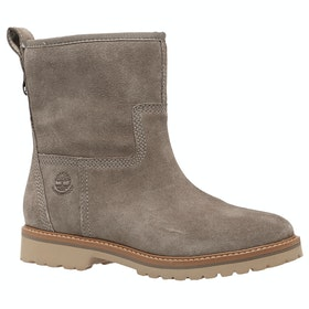 Timberland Chamonix Valley Ladies Boots - Taupe Grey Suede
