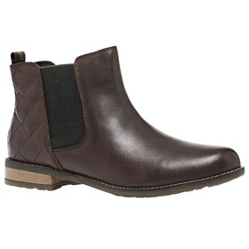 Barbour Abigail Chelsea Ladies Boots - Wine Mix