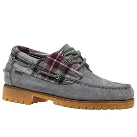 Sebago X Pendleton Acadia Suede Wool Dress Shoes - Acadia