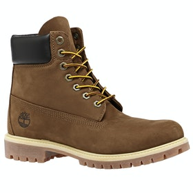 Timberland Icon 6in Premium Waterproof Boots - Rust Nubuck