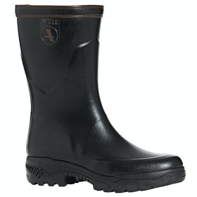 Aigle Parcours 2 Bottillon Ankle Ladies Wellies - Noir