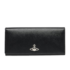 Vivienne Westwood Pimlico Long Womens Card Holder - Black