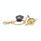 Vivienne Westwood Sofia 3D Orb Light Gold Женщины Брелок