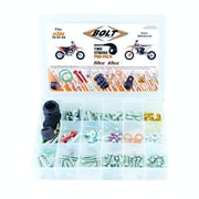 Bolt Hardware Euro Style 2T Pro Pack Fastener Kit SX5065 02 , Bike Specific Bolt Pack