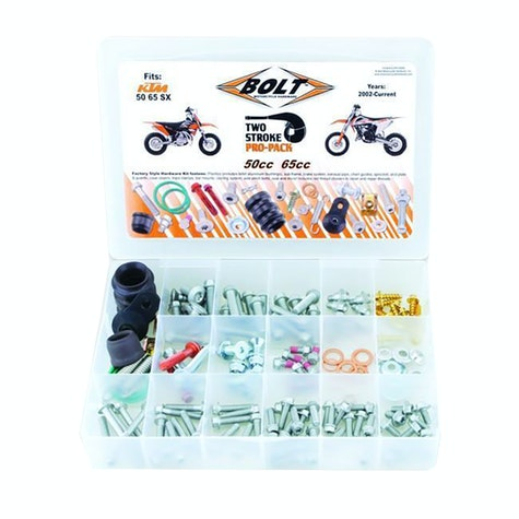 Bike Specific Bolt Pack Bolt Hardware Euro Style 2T Pro Pack Fastener Kit SX5065 02