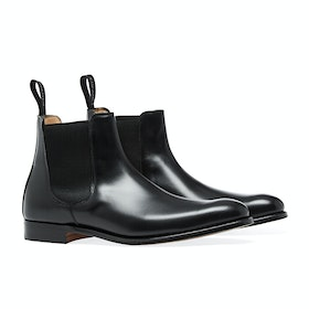 Buty Męskie Cheaney Made in England Threadneedle Chelsea - Black