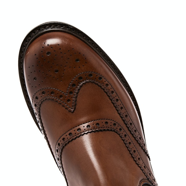 Cheaney Made in England Victoria Brogue Chelsea Kvinner Støvler