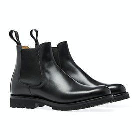 Buty Cheaney Made In England Amelie - Black Calf