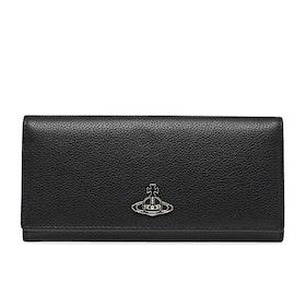 Card Holder Senhora Vivienne Westwood Windsor Long - Black
