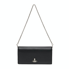 Vivienne Westwood Windsor Long With Chain Womens ウォレット - Black