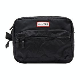 Hunter Orig Nylon Crossbody Gürteltasche - Black