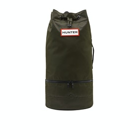 Hunter Original Nylon Sporttasche - Dark Olive