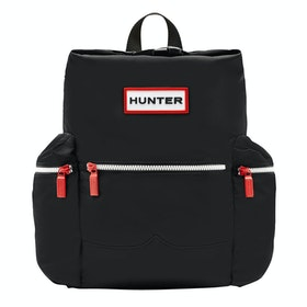 Hunter Original Mini Topclip Nylon Rucksack - Black