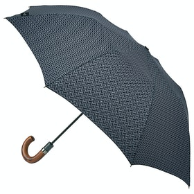 Ted Baker 2 Stage Auto Umbrella - Feathers Geo
