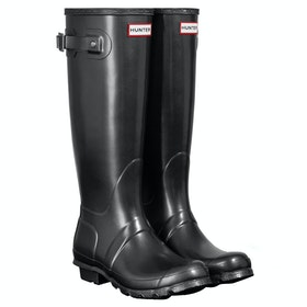 Hunter Original Tall Nebula Ladies Wellingtons - Black