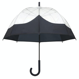 Hunter Original Moustache Bubble Umbrella - Navy