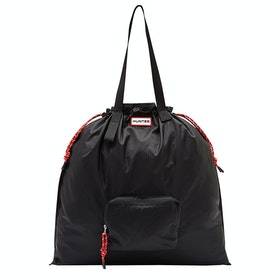 Hunter Original Packable Tote Shopper Bag - Black