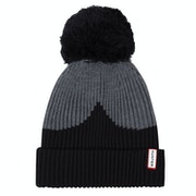 Hunter Moustache Bobble Beanie
