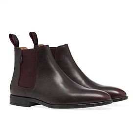 Paul Smith Gerald Boots - Burgundy Leather