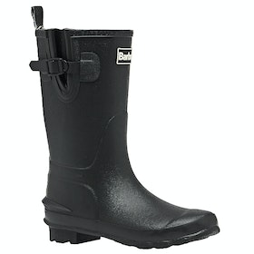 Barbour Simonside Childrens Wellington Boots - Black