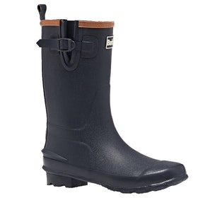 Barbour Simonside Childrens Wellington Boots - Navy