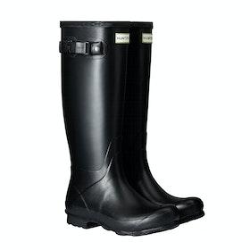 Stivali di Gomma Donna Hunter Norris Field - Black