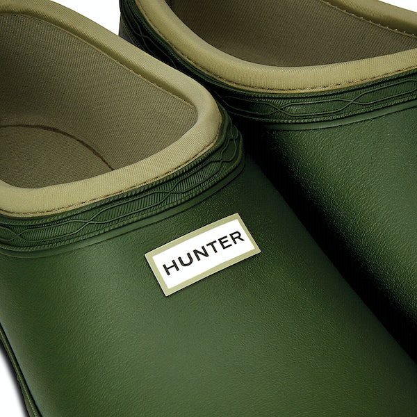 Hunter Mens Gardener Clog Wellington Boots