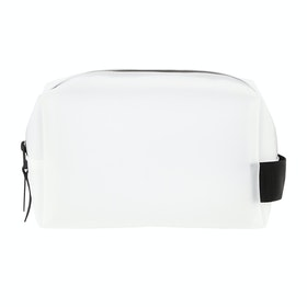 Rains Small Wash Bag - 99 Foggy White