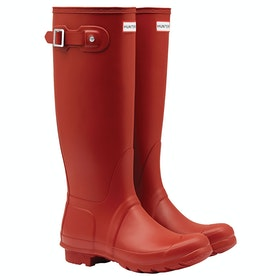 Hunter Original Tall Dame Wellies - Military Red