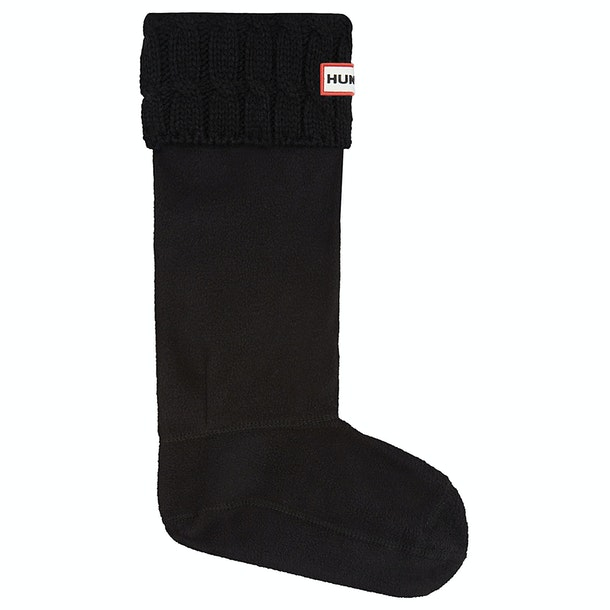 Hunter Stitch Cable Boot Wellington Socks