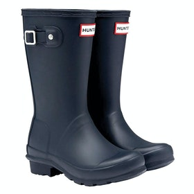Hunter Original Childrens Wellington Boots - Navy