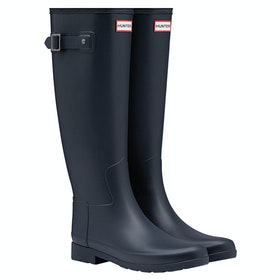 Hunter Original Refined Ladies Wellington Boots - Navy