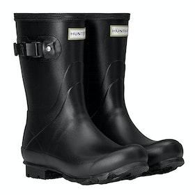 Stivali di Gomma Donna Hunter Norris Field Short - Black