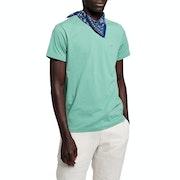 Gant Solid Mens Tričko s krátkým rukávem