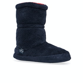 Joules Padabout Boys Slippers - Navy
