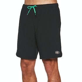 O'Neill Pm All Day Hybrid Swim Shorts - Black Aop