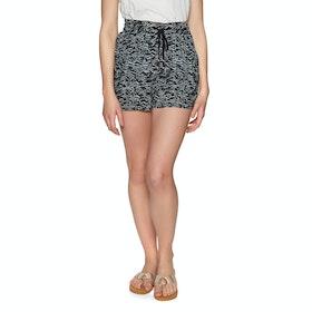 O'Neill Montara Drapey Womens Shorts - Black Green