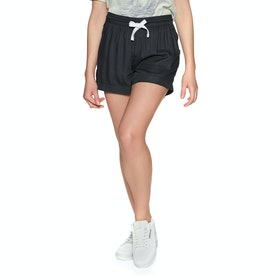 Element Enough Womens Shorts - Off Black