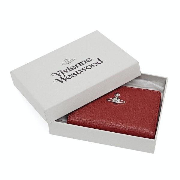 Vivienne Westwood Slim Flap Women's Card Holder